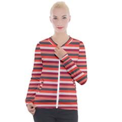 Stripey 13 Casual Zip Up Jacket