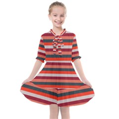 Stripey 13 Kids  All Frills Chiffon Dress