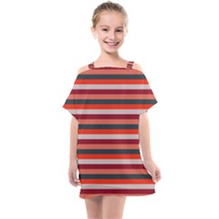 Stripey 13 Kids  One Piece Chiffon Dress