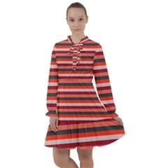 Stripey 13 All Frills Chiffon Dress
