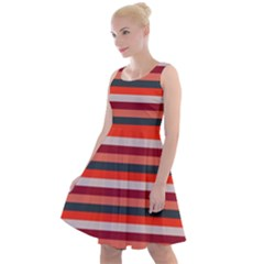 Stripey 13 Knee Length Skater Dress