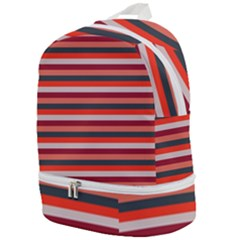 Stripey 13 Zip Bottom Backpack
