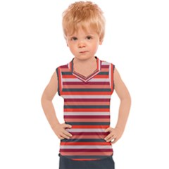 Stripey 13 Kids  Sport Tank Top