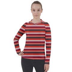 Stripey 13 Women s Pique Long Sleeve Tee