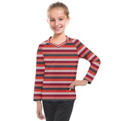 Stripey 13 Kids  Long Mesh Tee