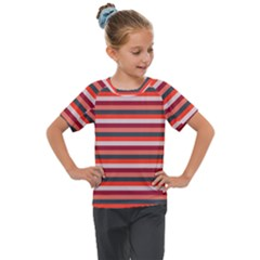 Stripey 13 Kids  Mesh Piece Tee