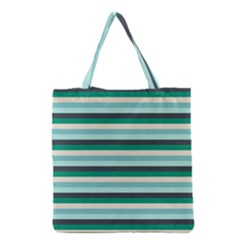 Stripey 14 Grocery Tote Bag by anthromahe