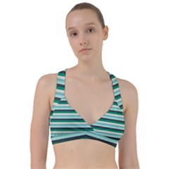 Stripey 14 Sweetheart Sports Bra