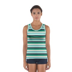 Stripey 14 Sport Tank Top  by anthromahe