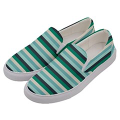 Stripey 14 Men s Canvas Slip Ons by anthromahe