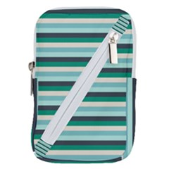 Stripey 14 Belt Pouch Bag (large) by anthromahe