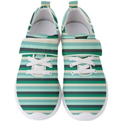 Stripey 14 Men s Velcro Strap Shoes by anthromahe