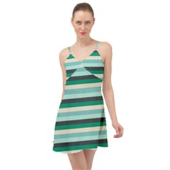 Stripey 14 Summer Time Chiffon Dress by anthromahe