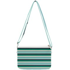 Stripey 14 Double Gusset Crossbody Bag by anthromahe