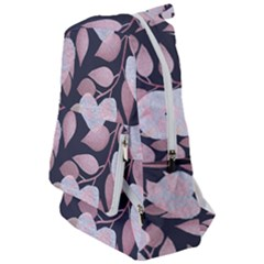 Navy Floral Hearts Travelers  Backpack by mccallacoulture