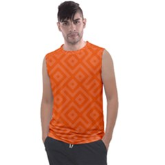 Orange Maze Men s Regular Tank Top