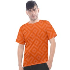 Orange Maze Men s Sport Top