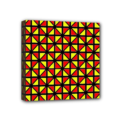 RBY-B-8 Mini Canvas 4  x 4  (Stretched)