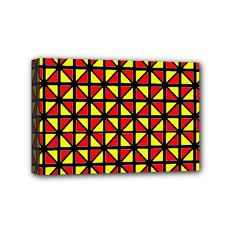 RBY-B-8 Mini Canvas 6  x 4  (Stretched)