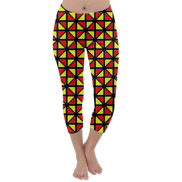 RBY-B-8 Capri Winter Leggings