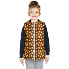 RBY-B-8 Kids  Hooded Puffer Vest