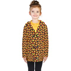 RBY-B-8 Kids  Double Breasted Button Coat