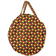 RBY-B-8 Giant Round Zipper Tote