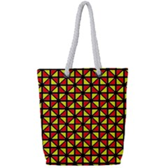 RBY-B-8 Full Print Rope Handle Tote (Small)