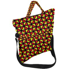 RBY-B-8 Fold Over Handle Tote Bag