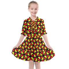 Rby-b-8 Kids  All Frills Chiffon Dress by ArtworkByPatrick