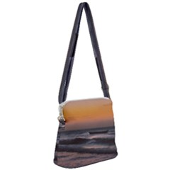 Seascape Sunset At Jericoacoara, Ceara, Brazil Zipper Messenger Bag by dflcprintsclothing