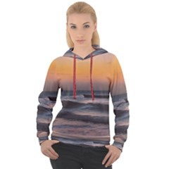 Seascape Sunset At Jericoacoara, Ceara, Brazil Women s Overhead Hoodie