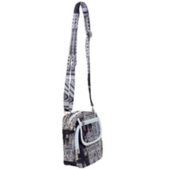 Santa Maria Del Fiore  Cathedral At Night, Florence Italy Shoulder Strap Belt Bag by dflcprints