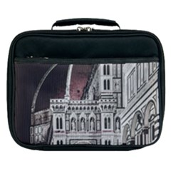Santa Maria Del Fiore  Cathedral At Night, Florence Italy Lunch Bag by dflcprints