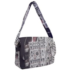Santa Maria Del Fiore  Cathedral At Night, Florence Italy Courier Bag by dflcprints