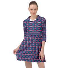 Df Tentifancy Look Mini Skater Shirt Dress by deformigo
