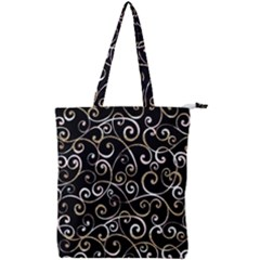 Swirly Gyrl Double Zip Up Tote Bag by mccallacoulture