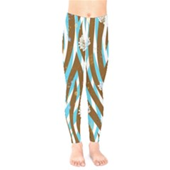 Floral Rivers Kids  Leggings