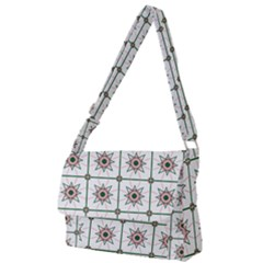 Df Camilla Vago Full Print Messenger Bag (s) by deformigo