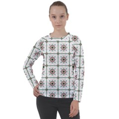 Df Camilla Vago Women s Long Sleeve Raglan Tee