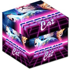 Cosmic Cat Storage Stool 12