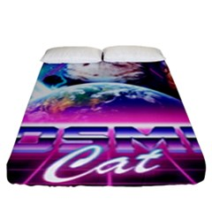 Cosmic Cat Fitted Sheet (king Size)