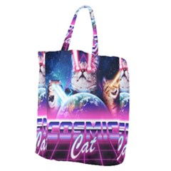 Cosmic Cat Giant Grocery Tote
