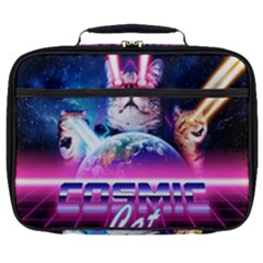 Cosmic Cat Full Print Lunch Bag
