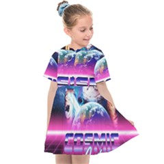 Cosmic Cat Kids  Sailor Dress