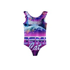 Cosmic Cat Kids  Frill Swimsuit