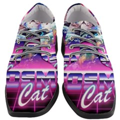 Cosmic Cat Women Heeled Oxford Shoes