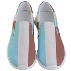 Stripey 17 Men s Lightweight Slip Ons by anthromahe