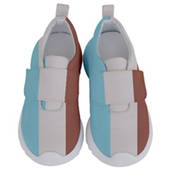 Stripey 17 Kids  Velcro No Lace Shoes by anthromahe