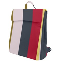 Stripey 18 Flap Top Backpack by anthromahe